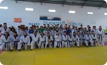 Unos 160 chicos participaron de un encuentro de iniciación deportiva en Mar de Ajó Norte