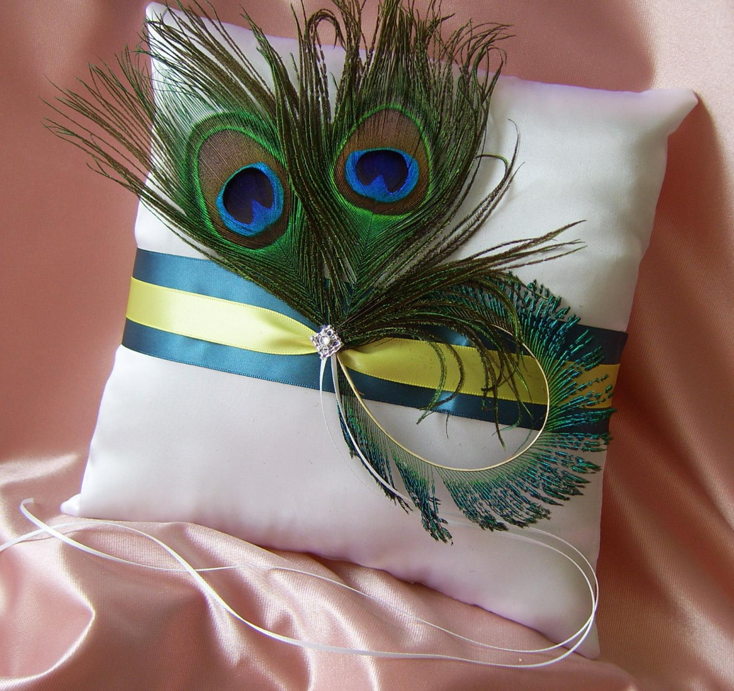 Peacock Wedding Accessory