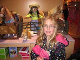 Hannah in the American Girl store in Chicago 01142012a