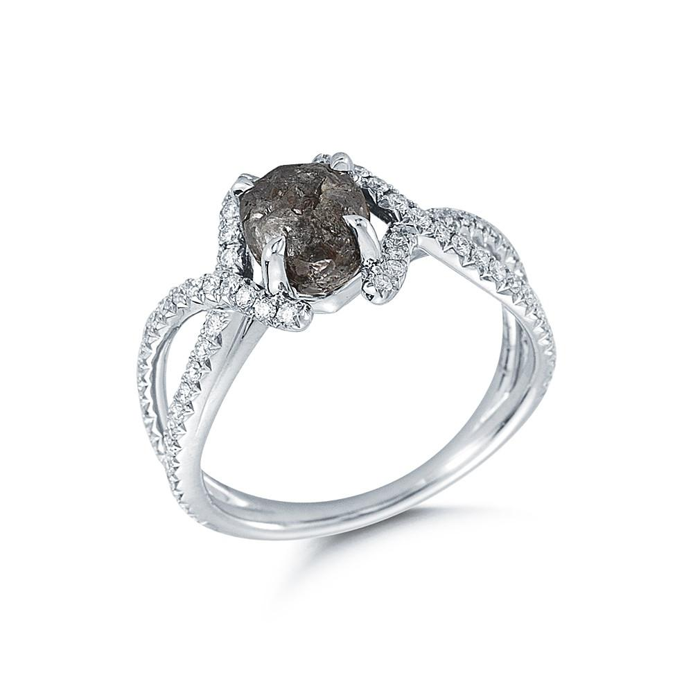 Unity Rough Diamond Engagement