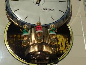 有楽町マリオンからくり時計のクリスマス♪
