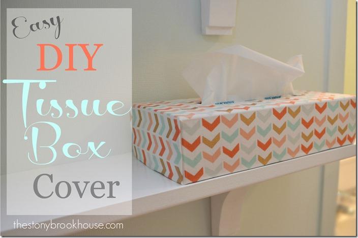 Easy DIY Tissue Box Cover