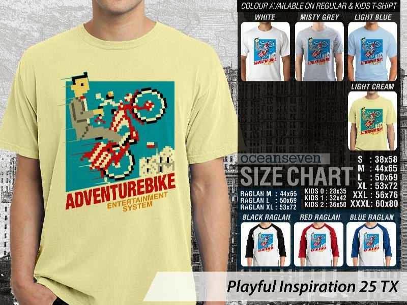 Kaos Lucu Playful Inspiration 25 distro ocean seven