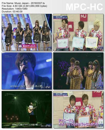 [TV-Variety] Music Japan – 2016.03.07 (TS)