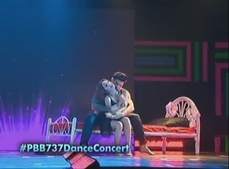 Dawn and Zeus at the PBB 737 Dance Concert