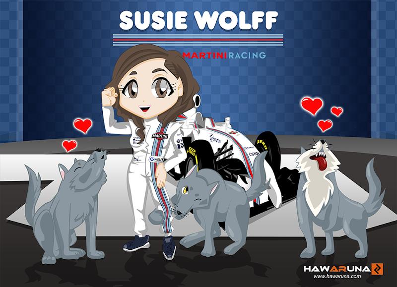 Сьюзи Вольфф чиби-комикс от Hawa Runa Studios