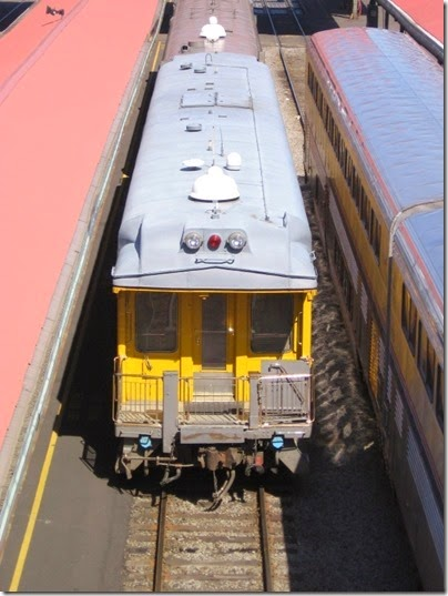 IMG_6039 Union Pacific Business Car #140 Stanford at Union Station in Portland, Oregon on May 9, 2009