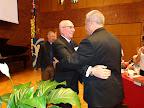 2015 Convention AD Presidnet Dr. David Benke Congratulates President Elect Rev. Derek Lecakes.jpg