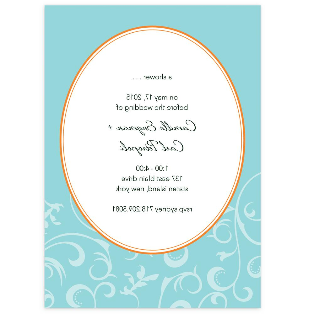 teal flourish wedding