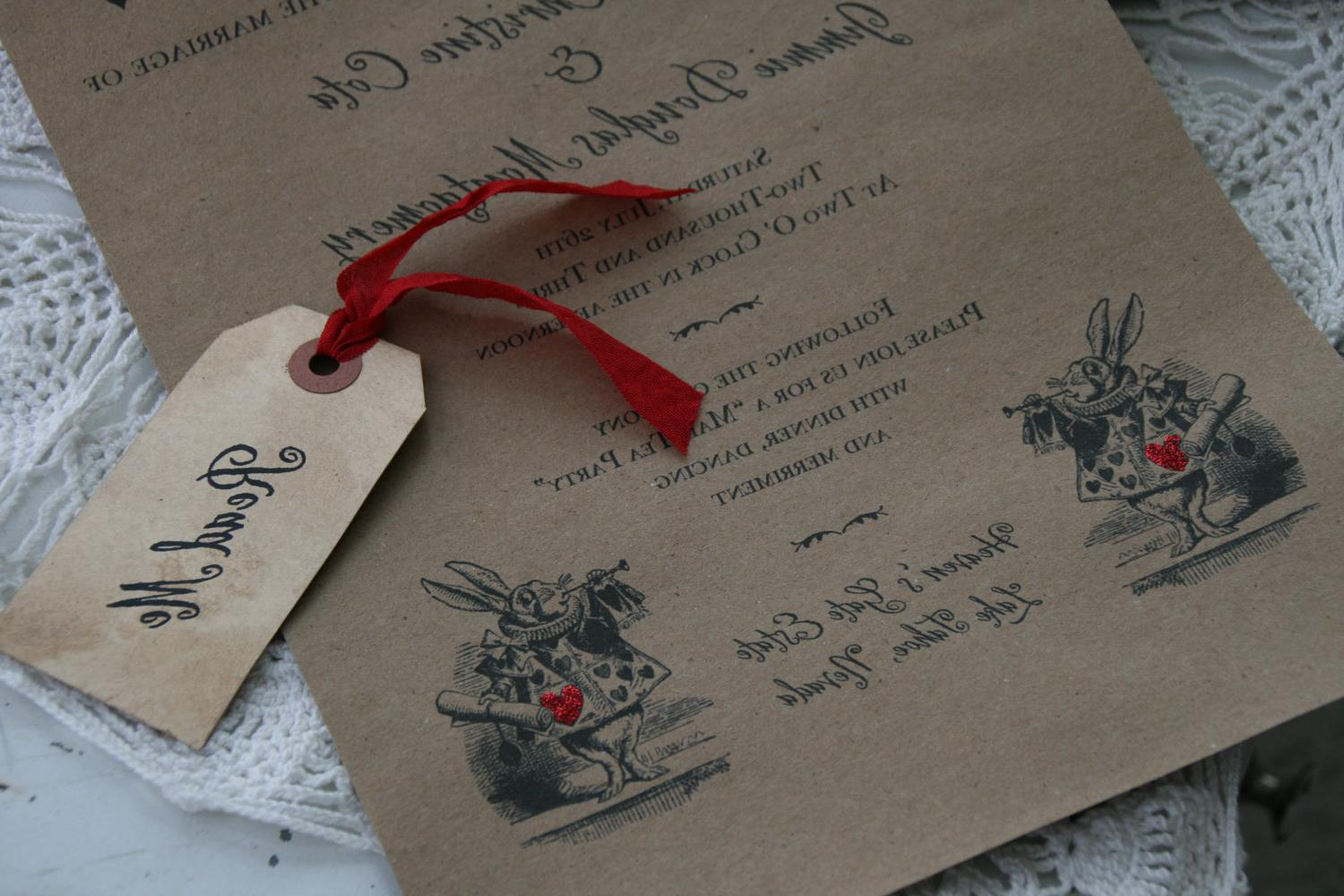 SCROLL INVITATION - weddings