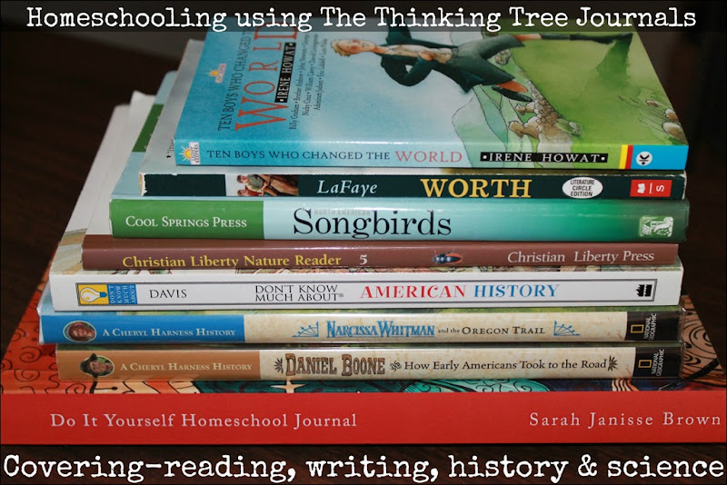 The Thinking Tree Journals covering multiple subjects