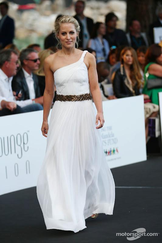 Дженнифер Бекс на Amber Lounge Fashion Show на Гран-при Монако 2013