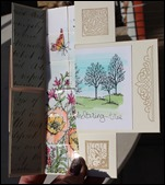 Endloskarte Endless Card Infinity Card Never Ending Card Stampin Up  05