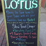 Dinner at Lotus Farm to Table