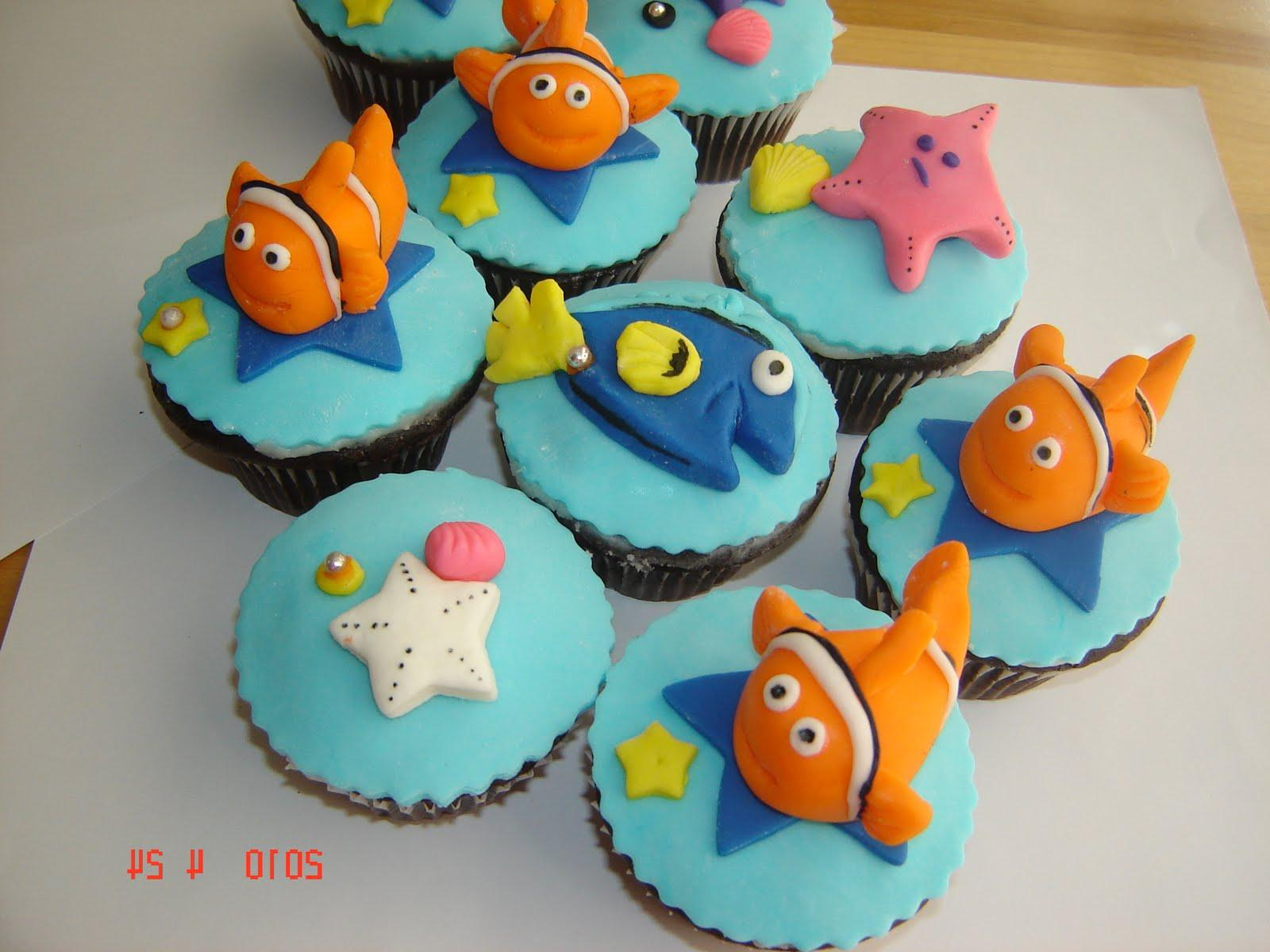 Finding Nemo Party Cupcake