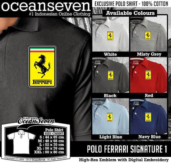 POLO Ferrari Signature distro ocean seven