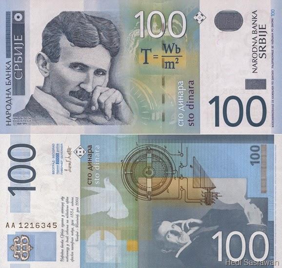 Mata uang Dinar (Serbia)