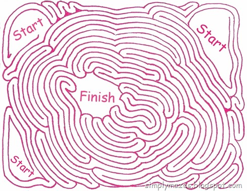 Maze Number 57: Elephant