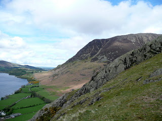 The slopes of Grasmoor