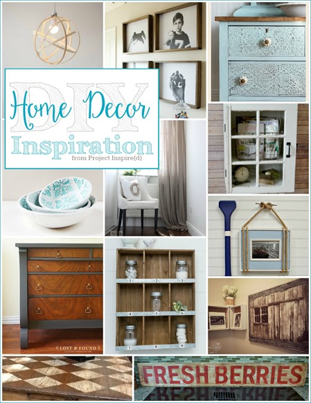 DIY Home Decor Inspiration from Project Inspire{d}
