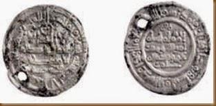 Monedas musulmanas - Necrópolis de San Esteban