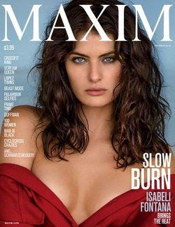 Читать онлайн журнал<br>Maxim #10 (october 2015 / USA)<br>или скачать журнал бесплатно