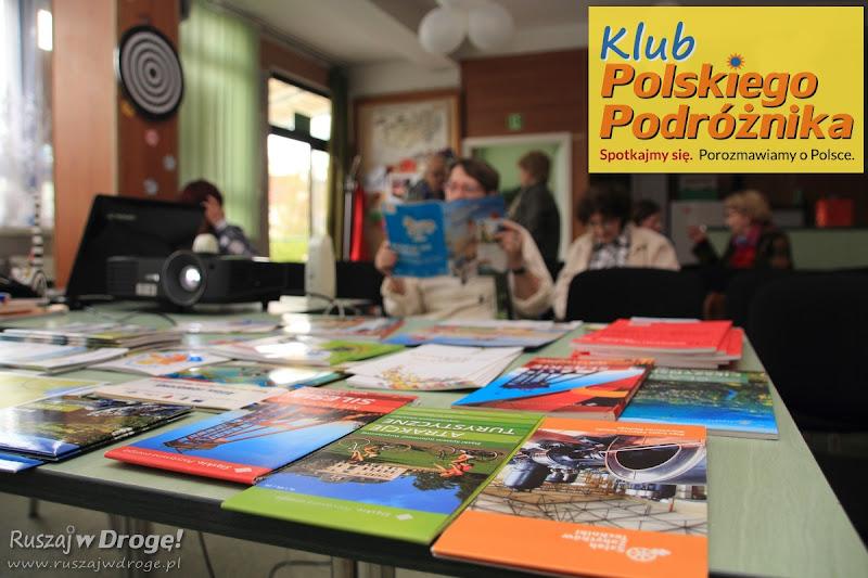 Mapy i przewodniki w Klubie Polskiego Podróżnika