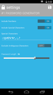 #1 Password Generator - screenshot