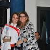 La giornalista Angela Ciano premia Chiara Tozzi.JPG