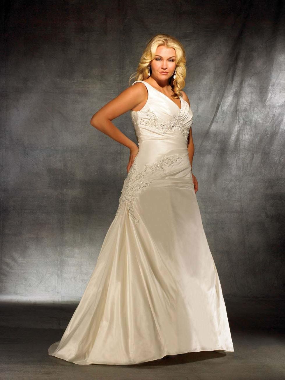 Plus Size Bridal Style W232