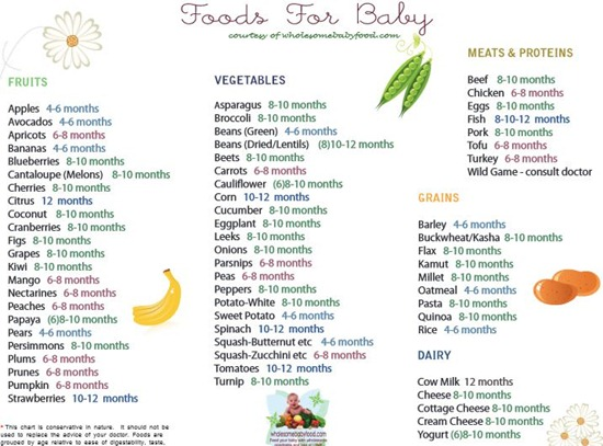 foods-for-baby-list