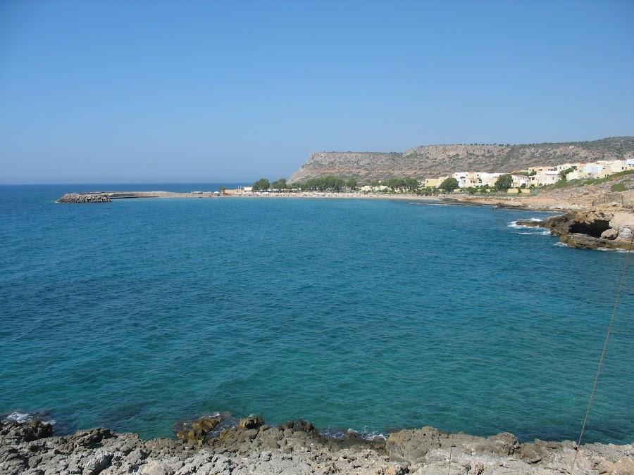 Пляж в Sissi