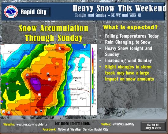 Black Hills snow forecast
