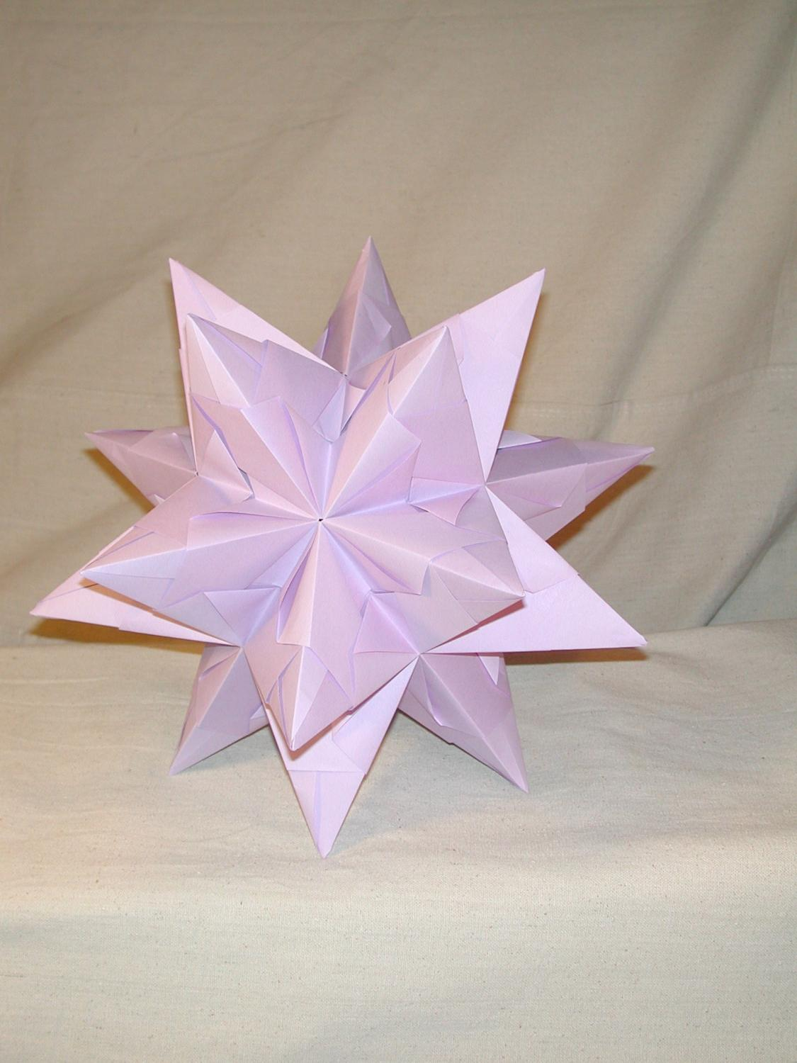 11 inch Origami Star hanging