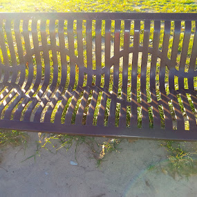 Bench by Suzette Christianson - Abstract Patterns
