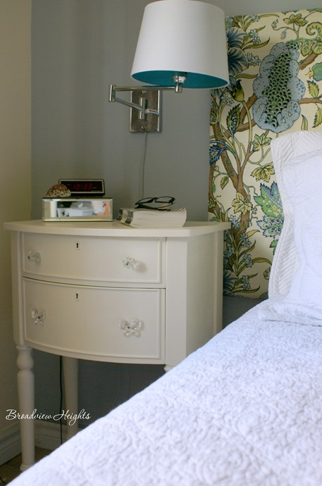 Chalk painted nightstands