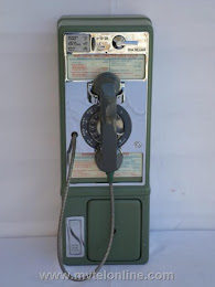 Single Slot Payphones - Mountain Bell, New Mexico 1C loc LP1 1