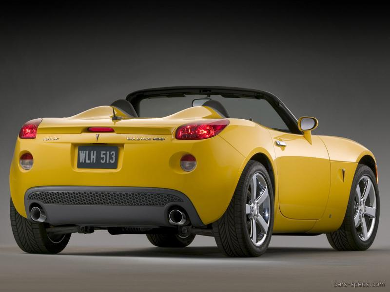 2009 pontiac solstice gxp specifications pictures prices. Black Bedroom Furniture Sets. Home Design Ideas