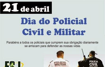 Resultado de imagem para 21 de abril dia do policial militar