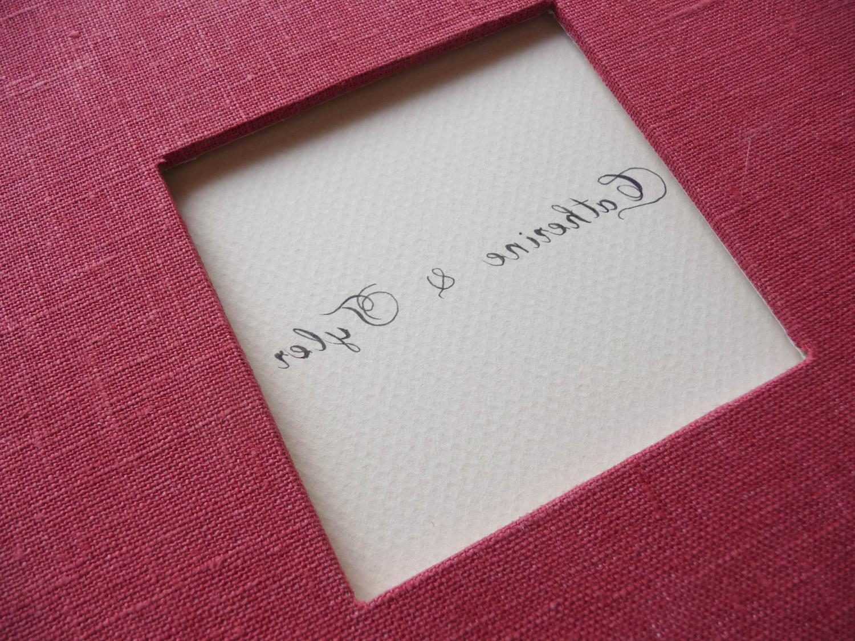 Wedding Guestbook Handwritten