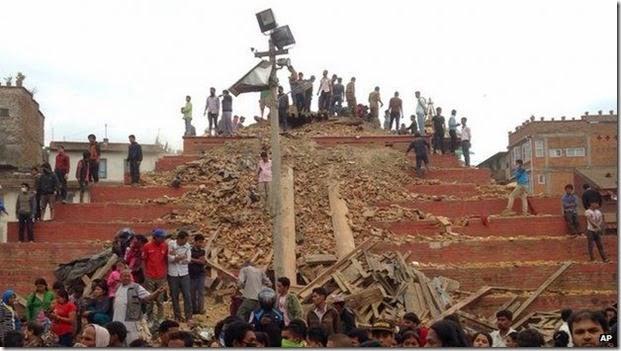 terremoto en nepal 2015 2