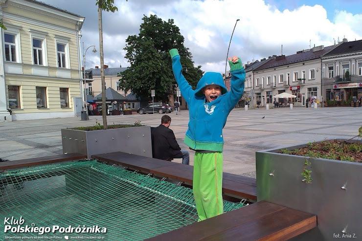 Na rynku w Kielcach