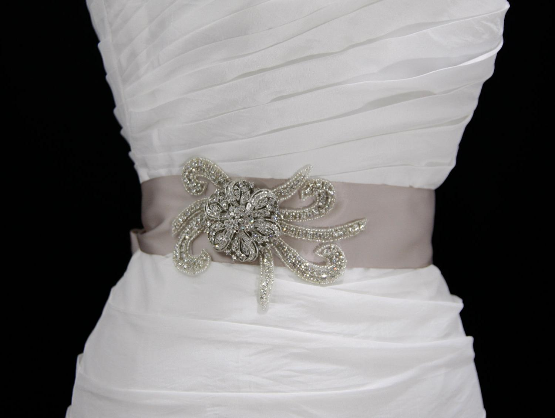 Crystal Bridal Sash