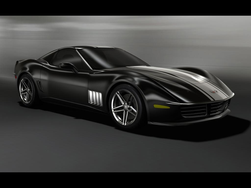 2009 C3R Retro Corvette