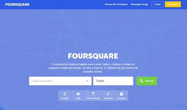 Cómo abrir una cuenta en Foursquare