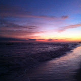 Sunset over the Gulf of Mexico in Destin FL 03232012q