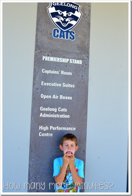 Geelong Cats Stadium | How Many More Minutes?