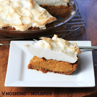 Pumpkin Meringue Pie #CanadianEggs