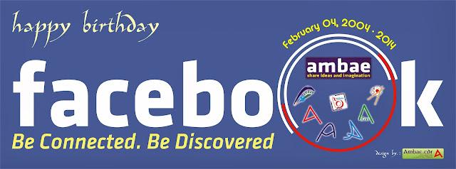 Ultah Facebook ke-10 2014 by. Ambae.cdr