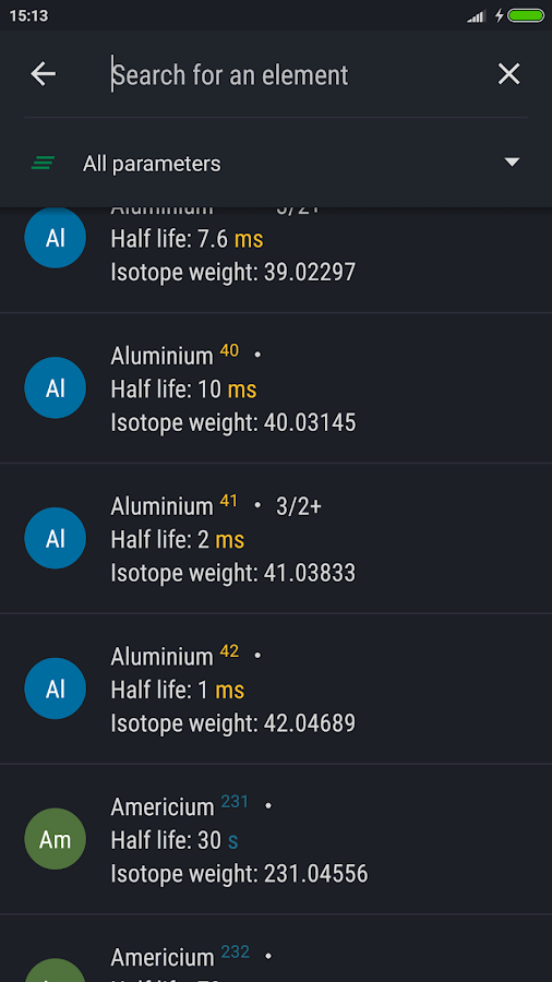 Periodic table 2018 pro apk cracked free download cracked periodic table 2018 pro screenshot 3 urtaz Gallery